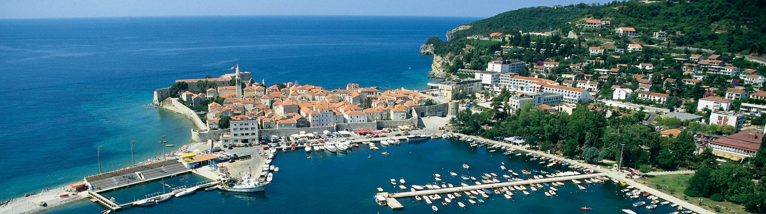 Budva city - scenic view - Authentic Villa Holidays_2496x699