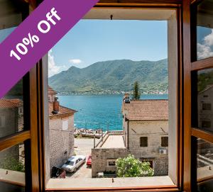 3 Bedroom Seaside Villa in Kotor Bay, Sleeps 6-8