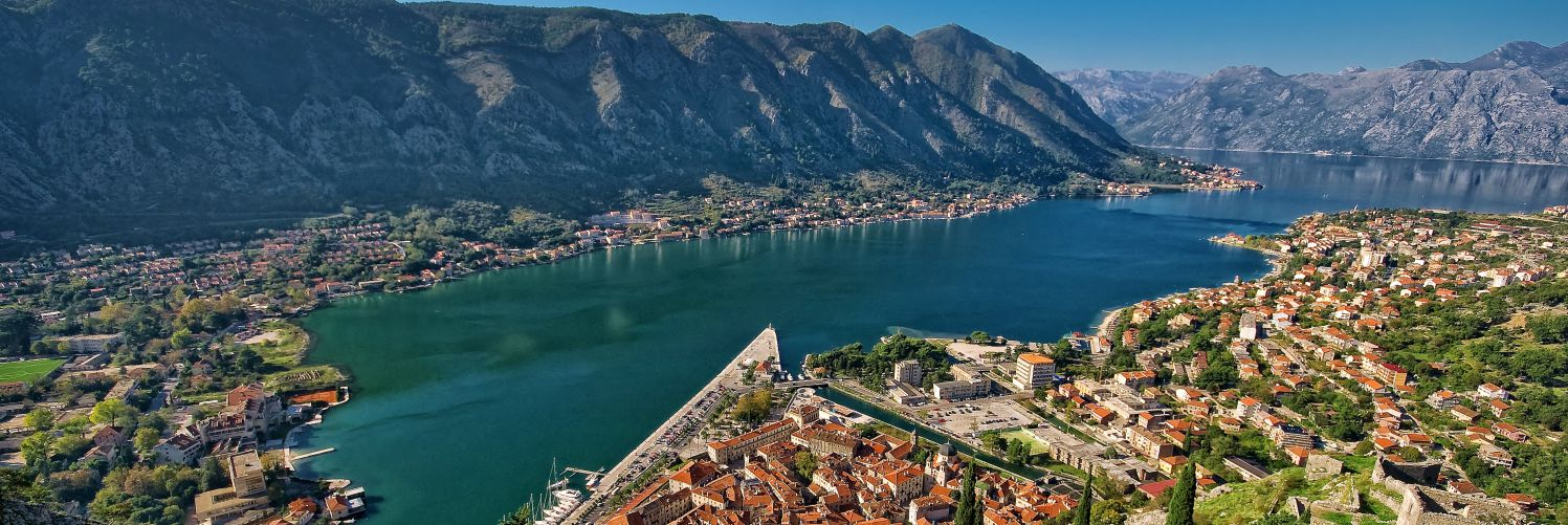 Kotor Bay - Boka Kotorska - scenic view 1 - Authentic Villa Holidays