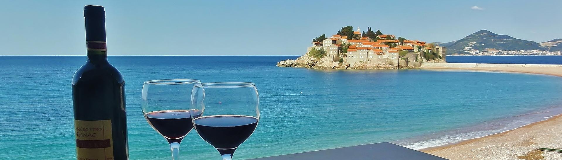 Sveti Stefan wine and beach view - Montenegro_2_1920x552