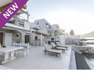 Lovely Seafront Villa near Kotor, sleeps 6-8